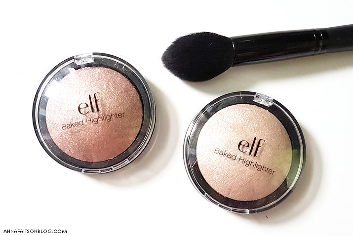 ELF Baked Highlighter - Moonlight Pearl & Blush Gems