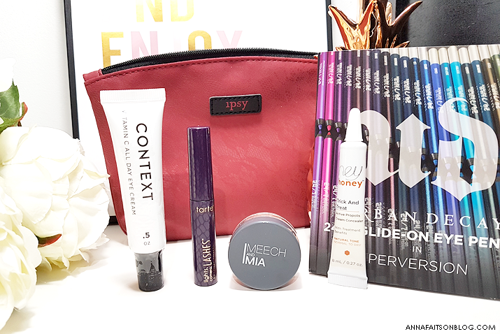 Ipsy Glam Bag Octobre 2017