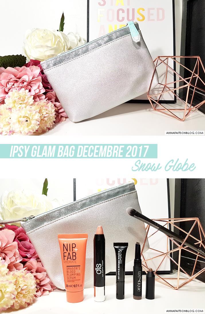 Ipsy Glam Bag Décembre 2017