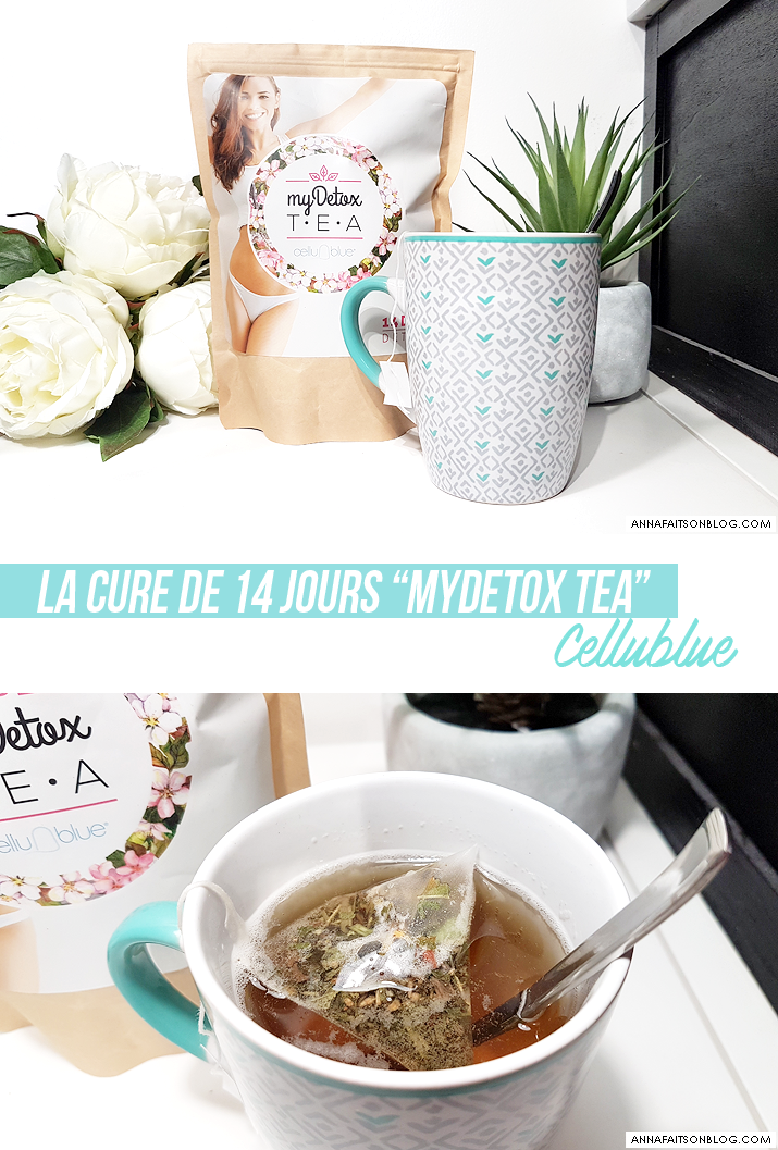 La cure myDetox Tea de Cellublue
