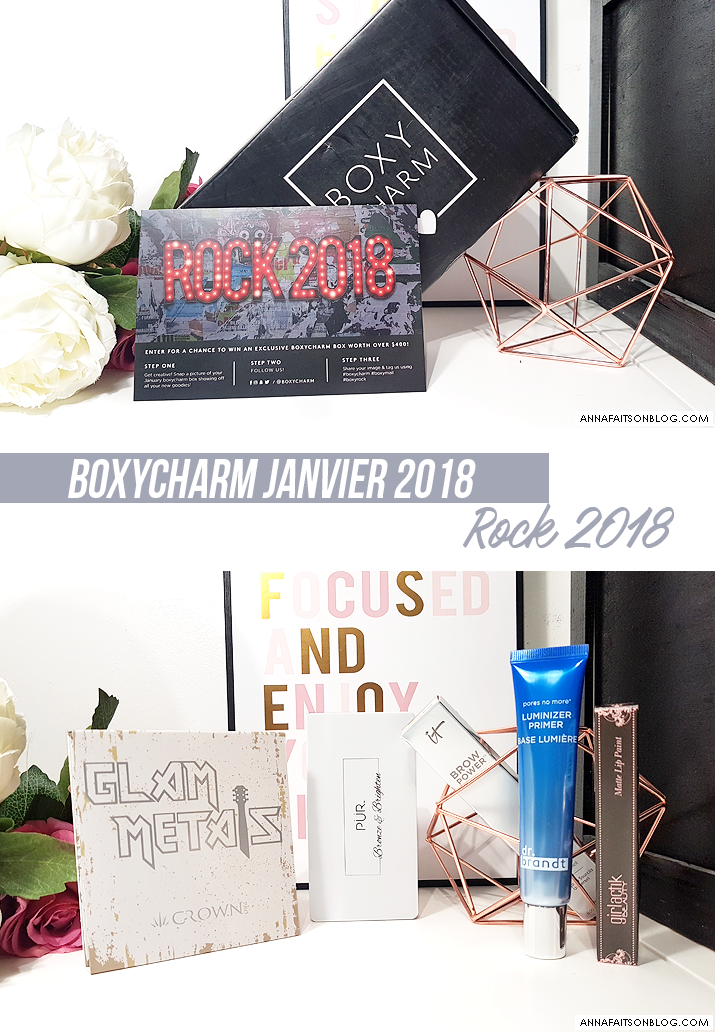 Boxycharm Janvier 2018
