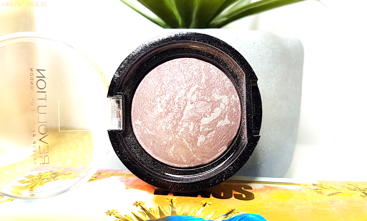 Makeup Revolution - Baked Blush in Hard Day