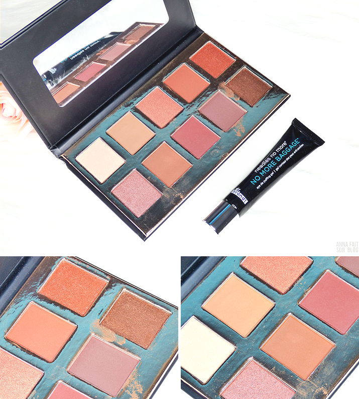 Palette Fuego de Crown Brush