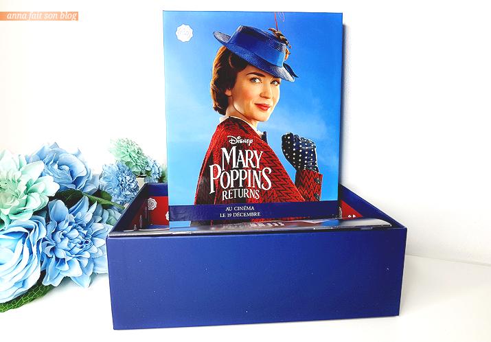 Glossybox Décembre 2018 : le retour de Mary Poppins