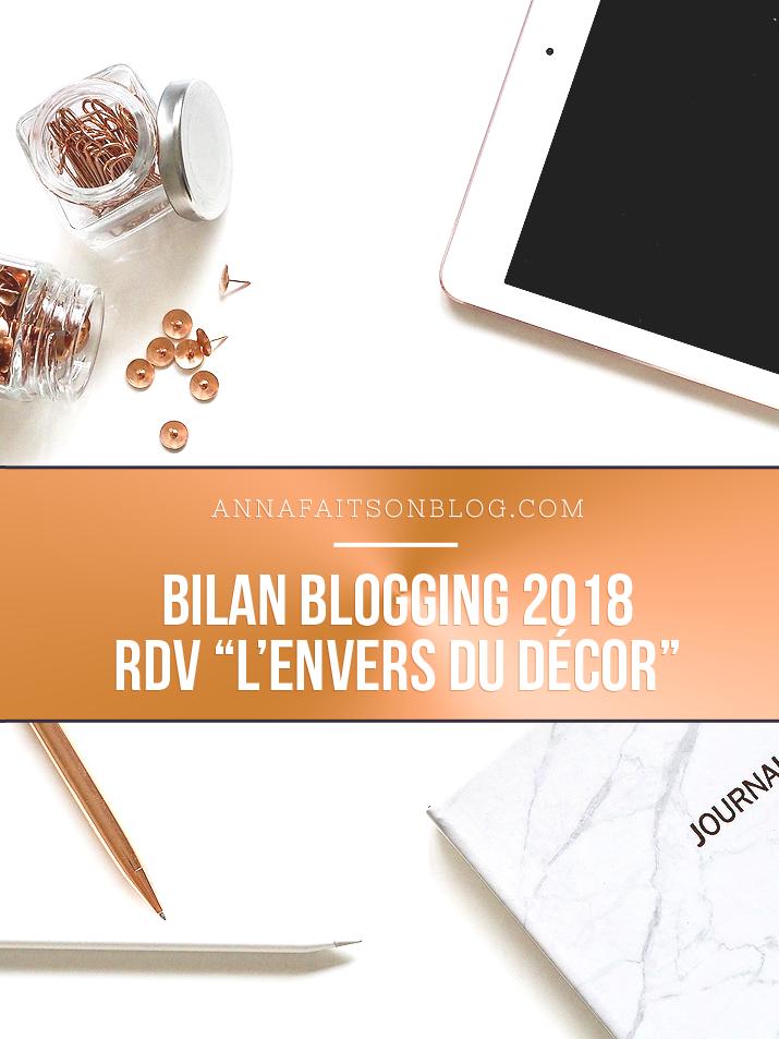 Bilan blogging 2018
