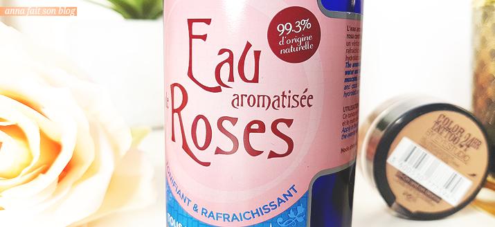 Christian Lénart Eau aromatisée de roses