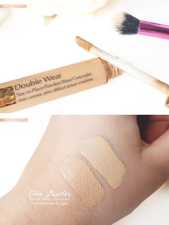 Estée Lauder Double Wear Concealer in Light Medium & Light