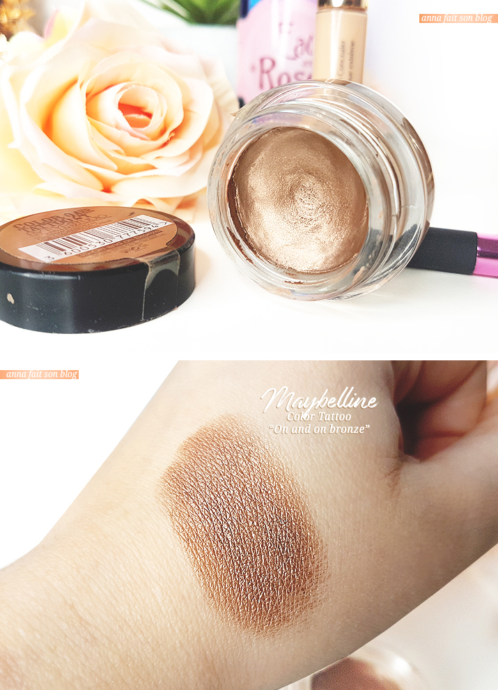 Maybelline Color Tattoo in On and on bronze