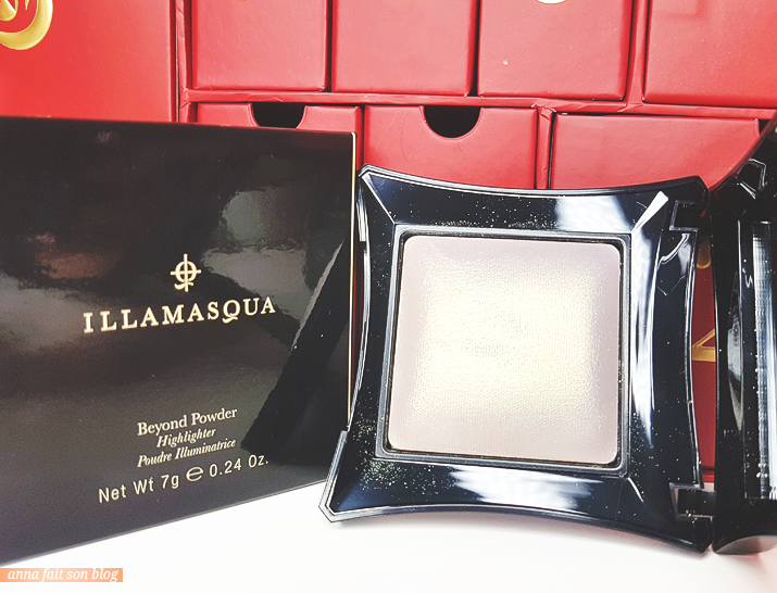 Calendrier Lookfantastic 2018 : Highlighter Illamasqua in Deity