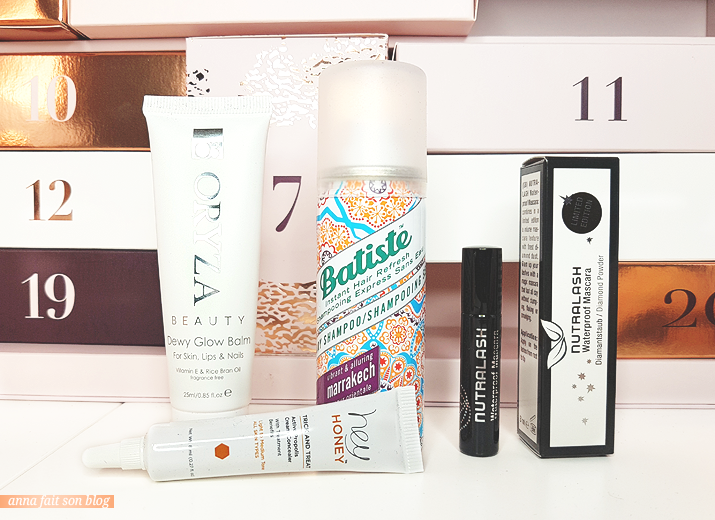Calendrier Glossybox 2018