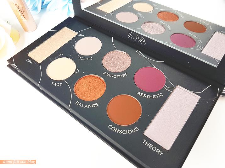 Boxycharm Décembre 2018 : Suva Beauty Protégé Palette