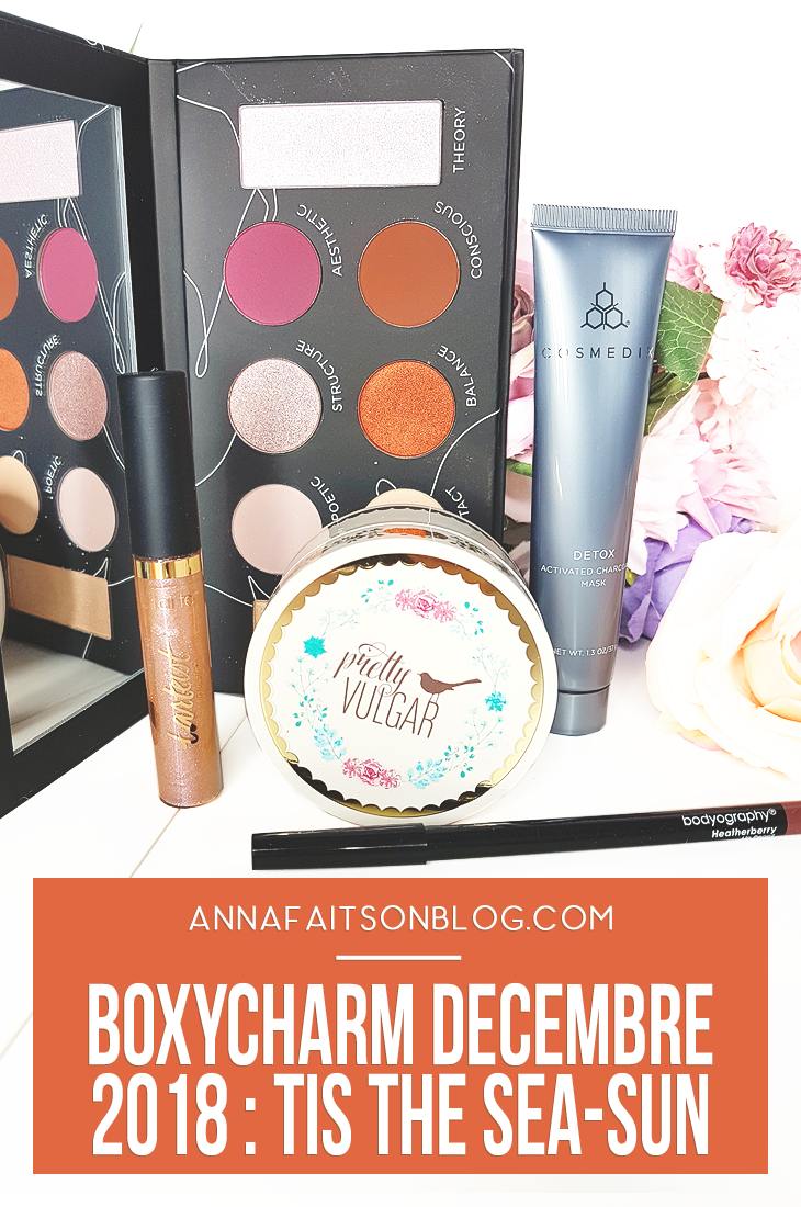 Boxycharm December 2018 #beautybox #beautyblog