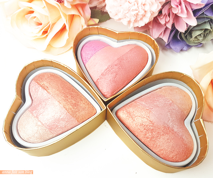 I Heart Revolution : Blushing Hearts #makeup #revolutionbeauty #iheartrevolution