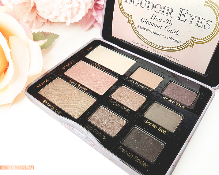 Too Faced : Boudoir Eyes Palette #eyeshadows #toofaced #makeup