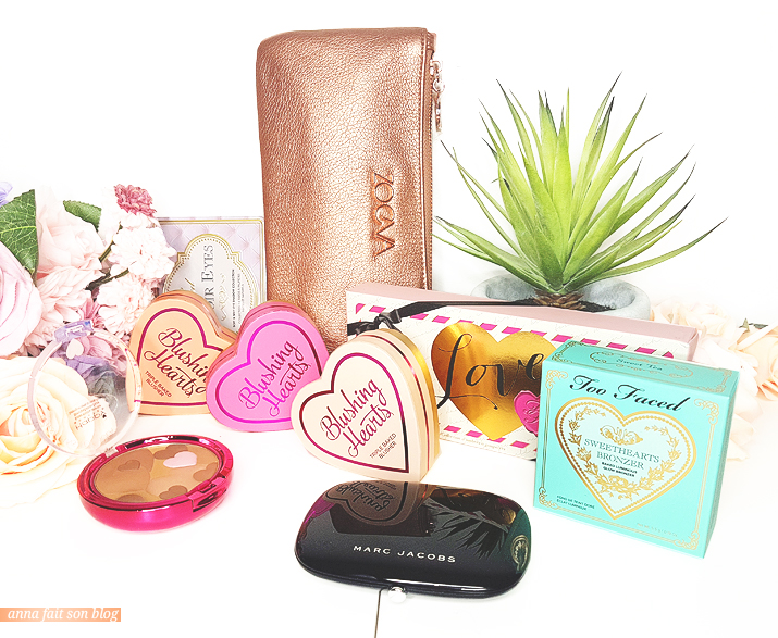 Produits qui me font penser à la Saint Valentin #makeup #saintvalentin