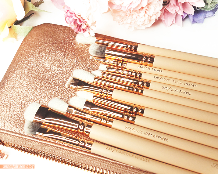 Zoeva : Rose Golden Complete Eye Brush Set #brushset #rosegold #makeup