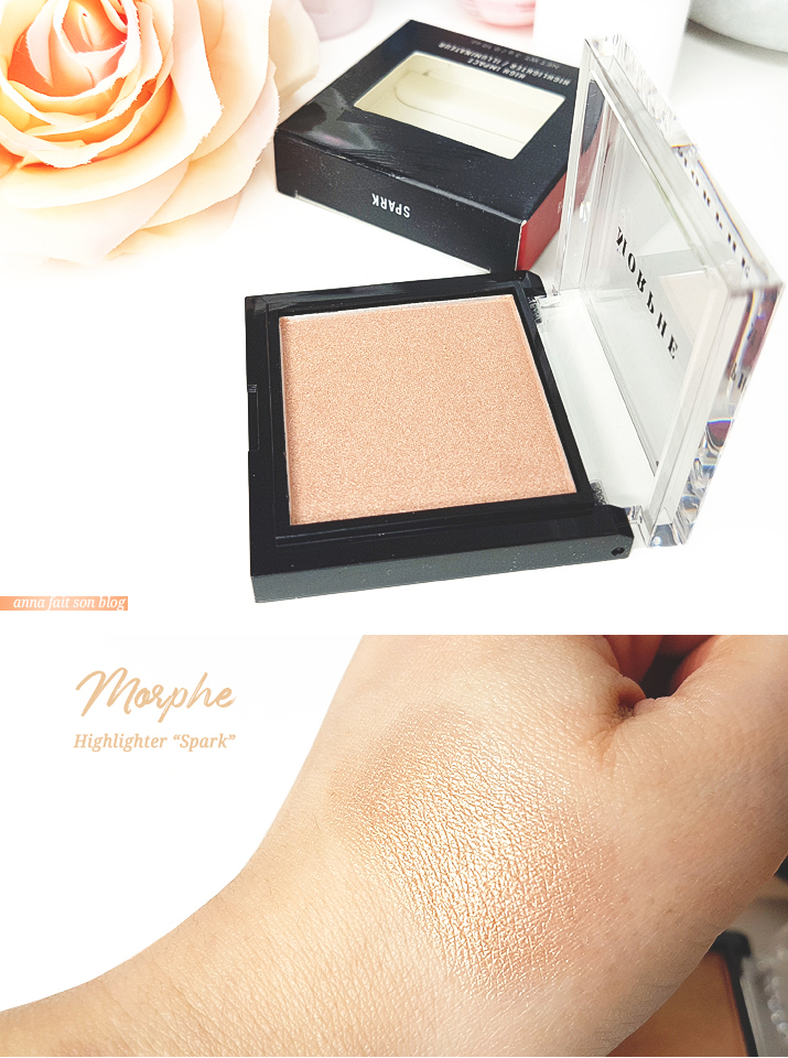 Morphe - Highlighter in Spark #highlighter #makeupswatch
