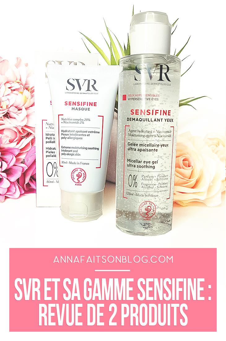 SVR gamme Sensifine #skincare