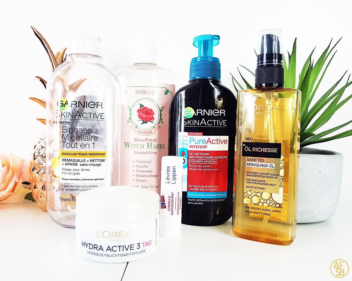 Six produits soins terminés #skincare