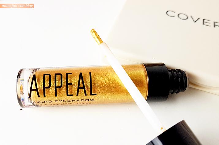 Appeal Cosmetics - Liquid Eyeshadow in Gold #beautybox