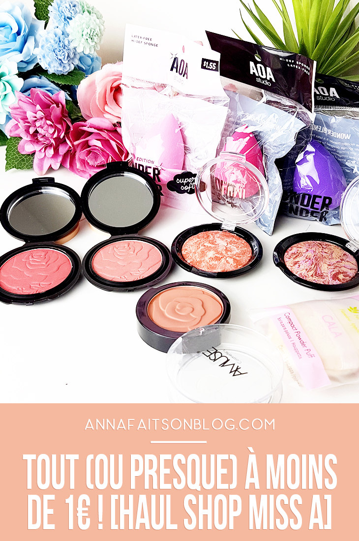 Haul Shop Miss A #beautyhaul