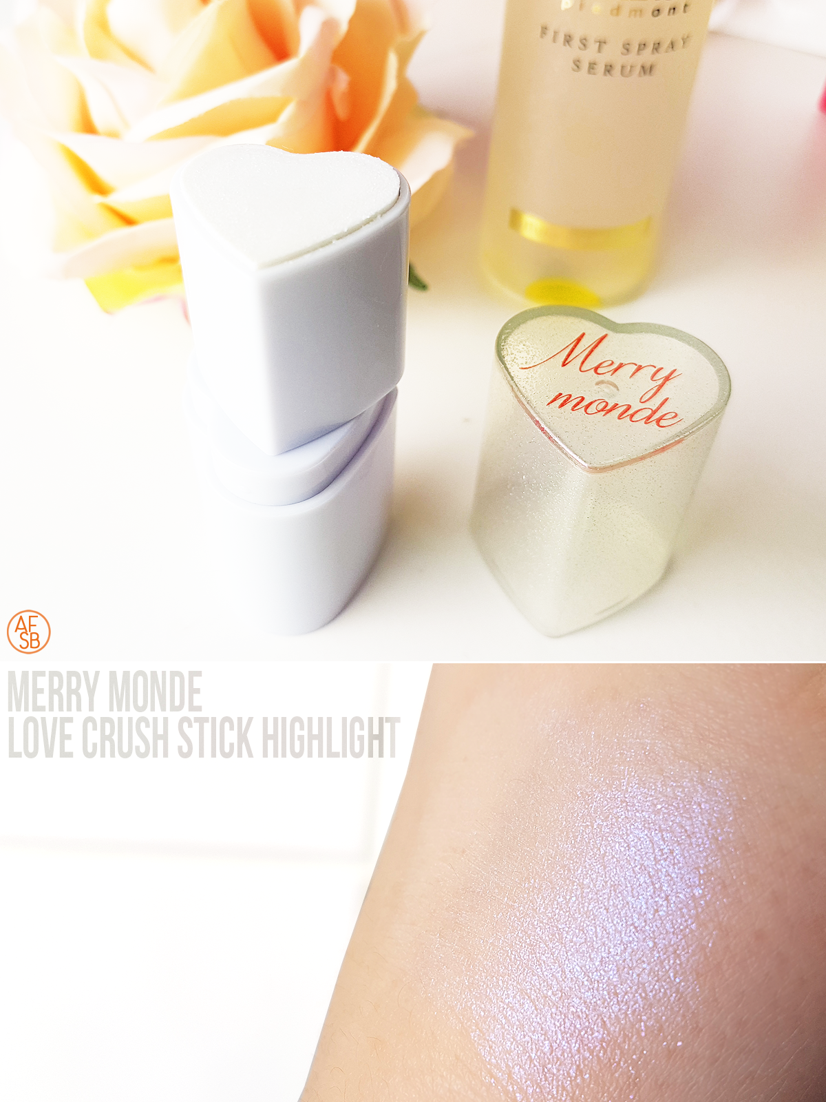 Merry Monde - Love Crush Stick Highlight #beautybox #kbeauty