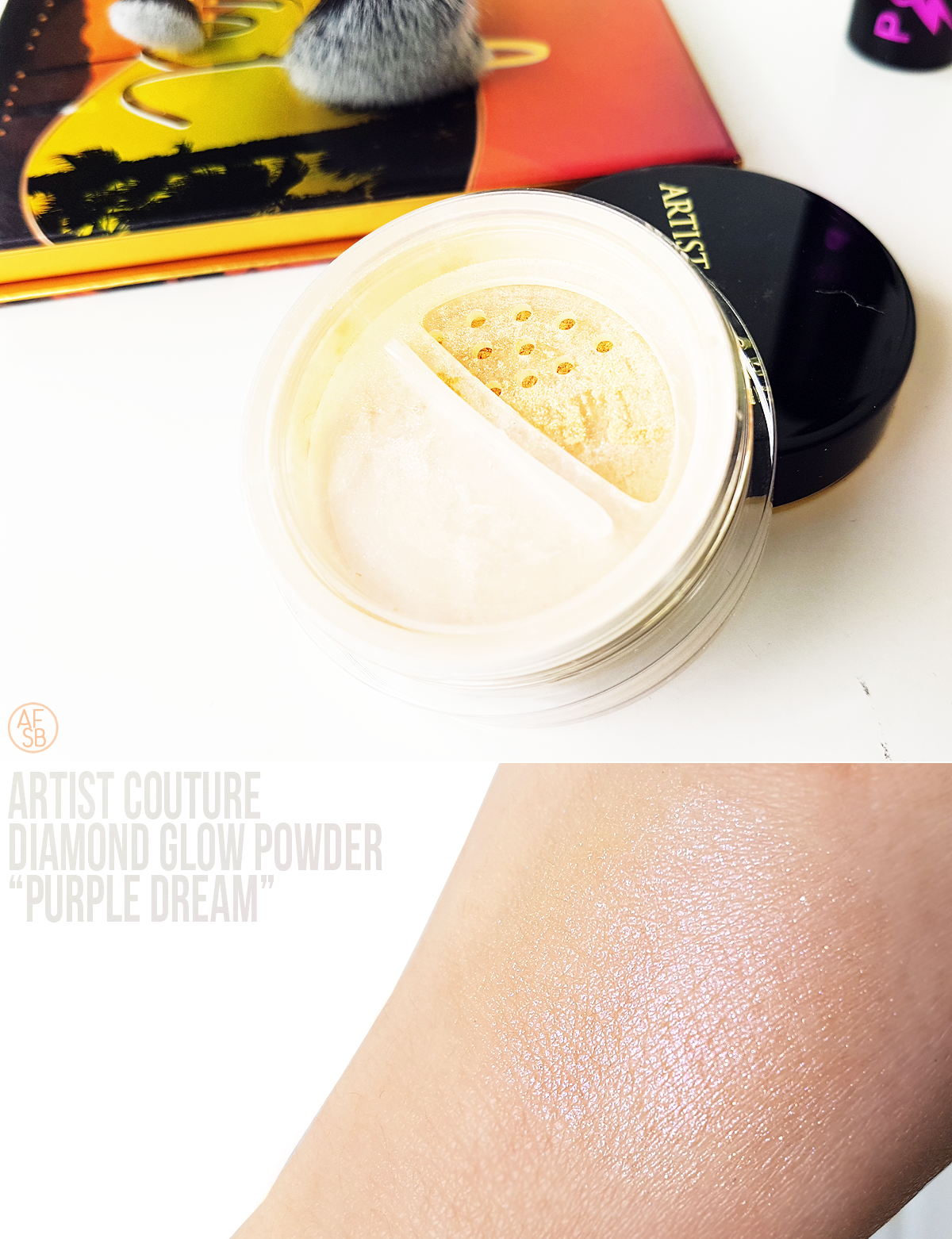 Artist Couture - Diamond Glow Powder #beautybox #highlighter