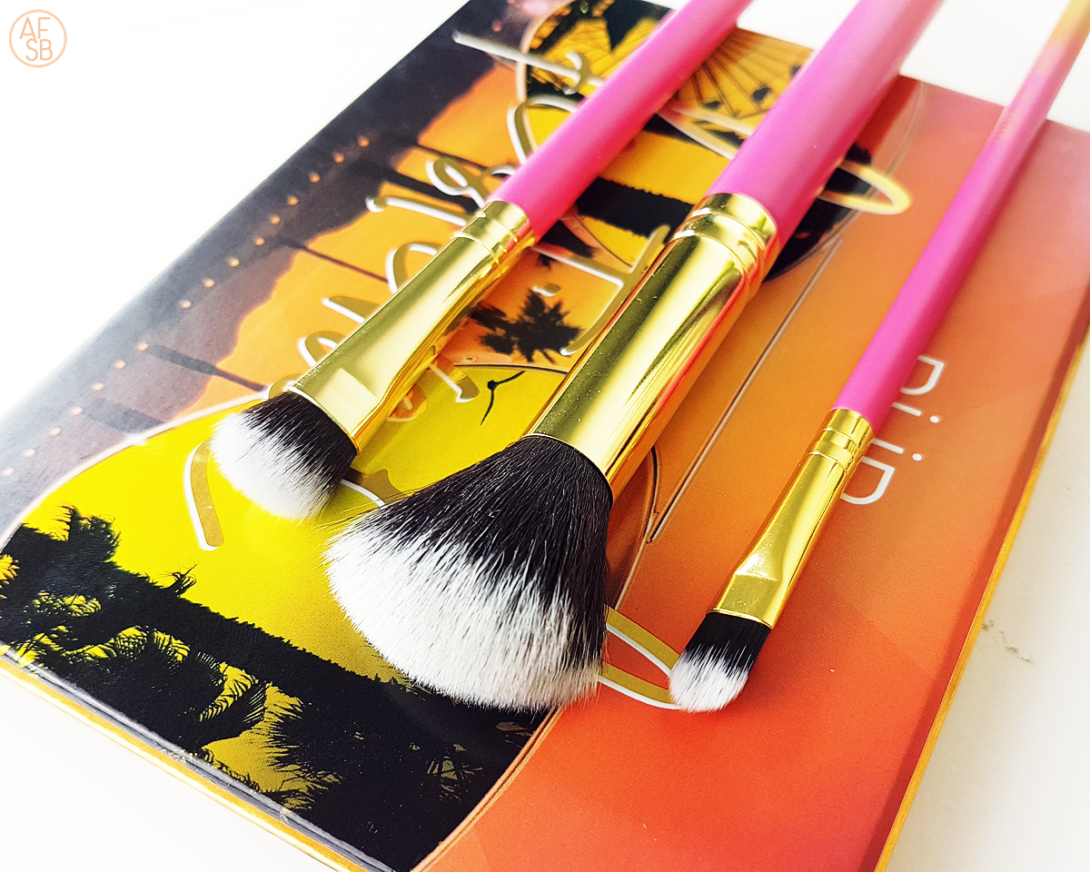 Luxie - The Summer Daze Brush Set #beautybox #makeupbrush