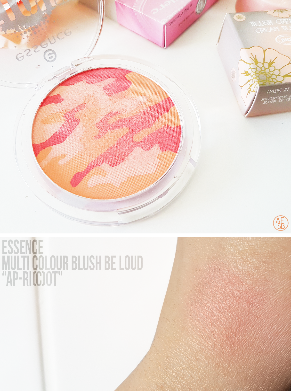 Essence - Multi Colour Blush Be Loud in Ap-ri(c)ot