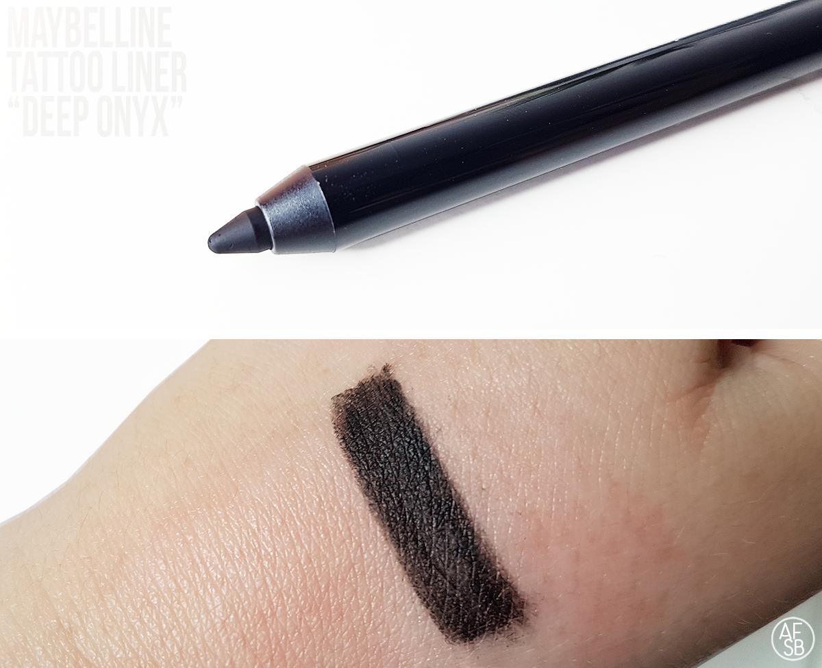 Tattoo Liner de Maybelline in Deep Onyx #eyepencil #eyemakeup