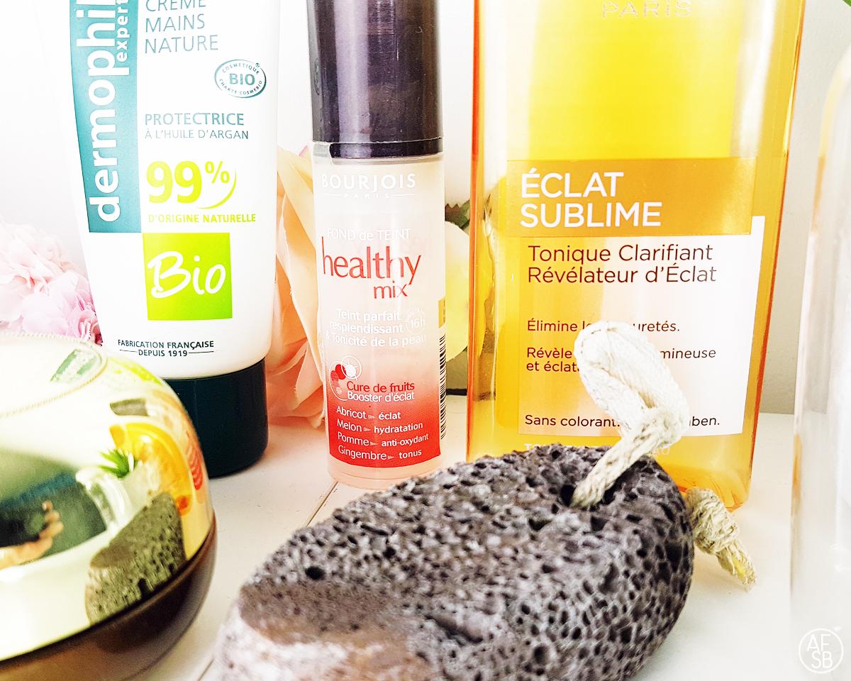 Six produits de beauté terminés #skincare