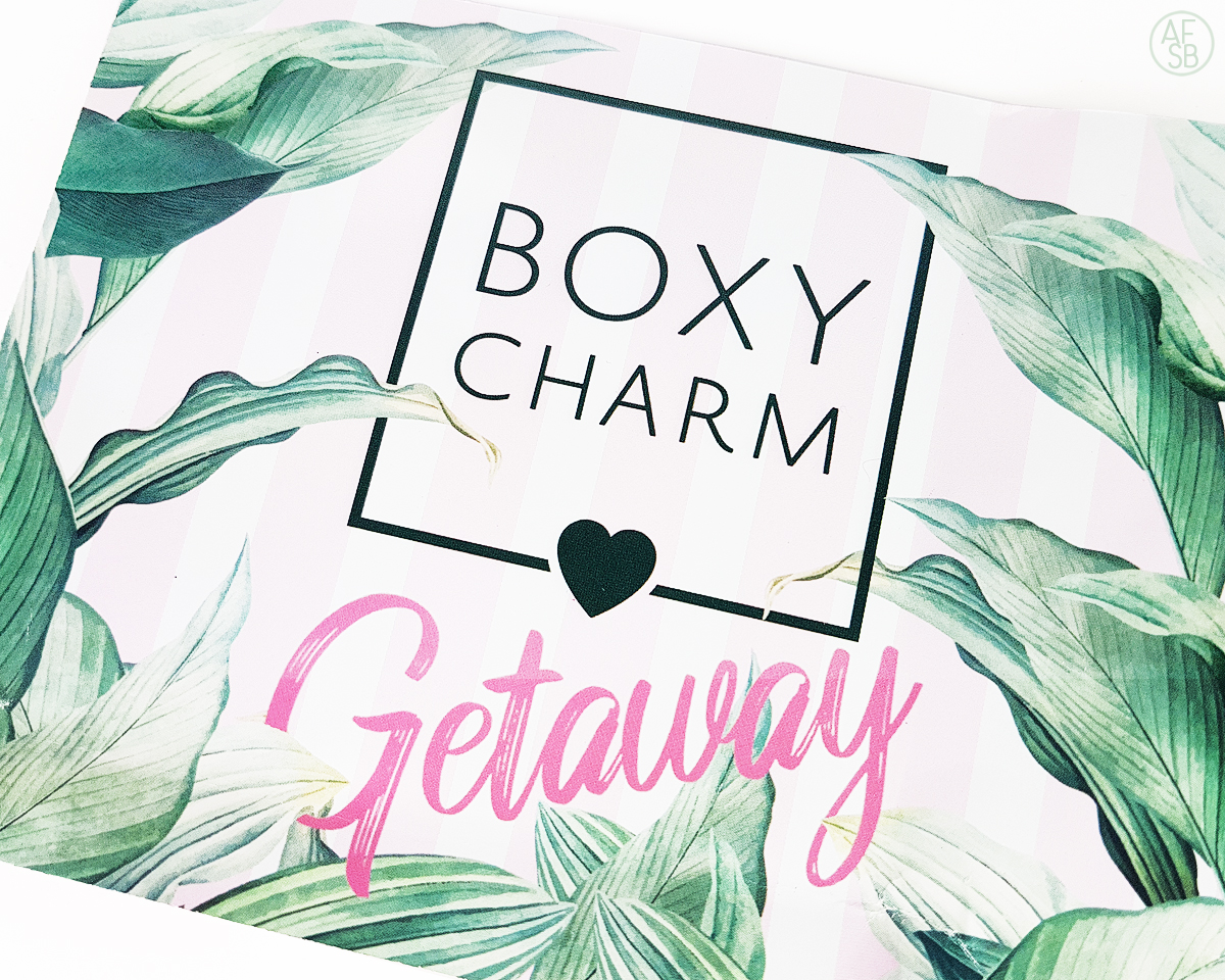 Boxycharm Juin 2019 #beautybox