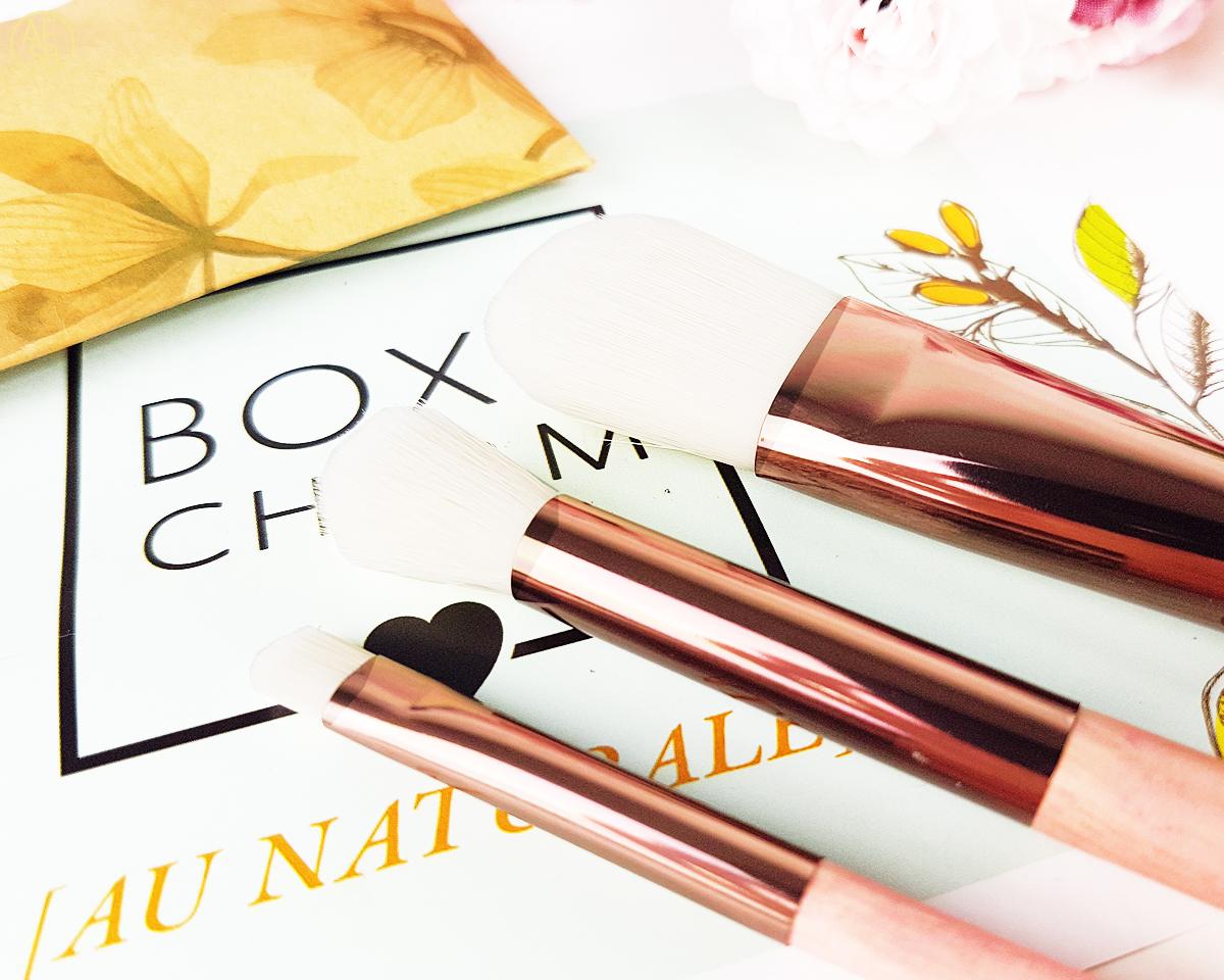 Boxycharm Juillet 2019 : Luxie - Gaea 3 piece brush set #beautybox