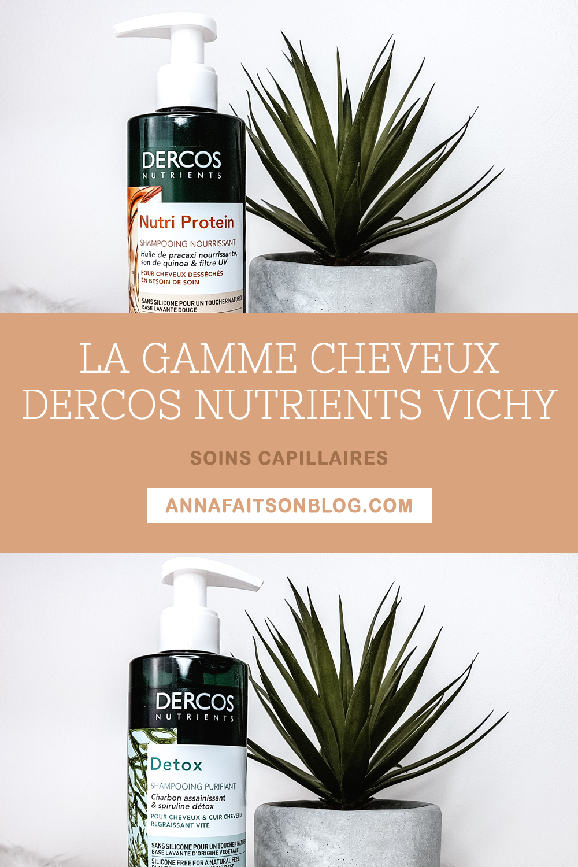 Gamme cheveux Dercos Nutrients Vichy