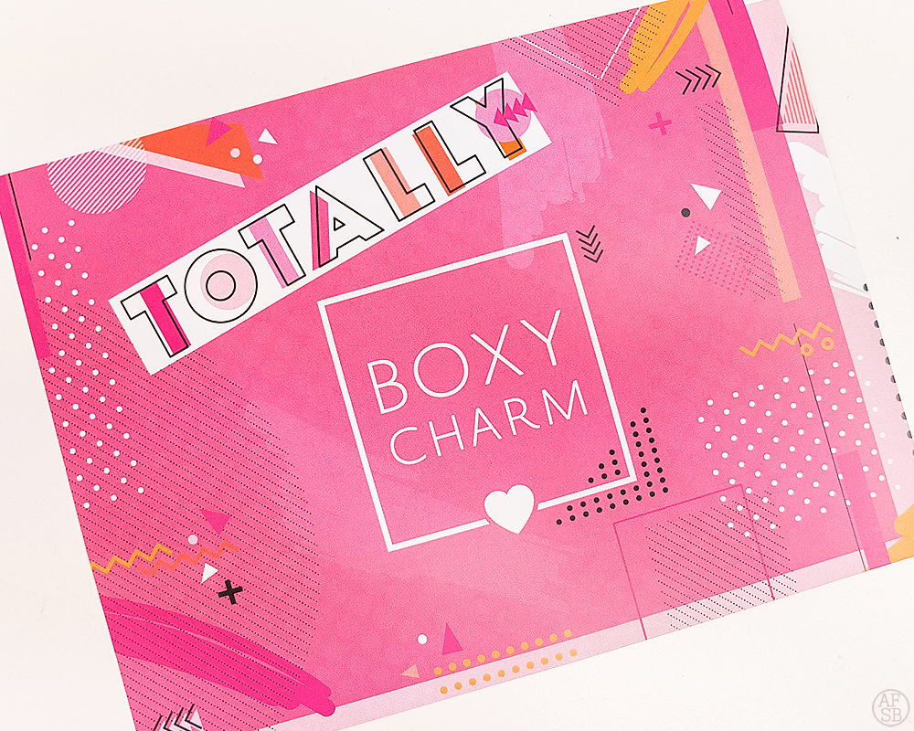 Boxycharm Aout 2019 #beautybox