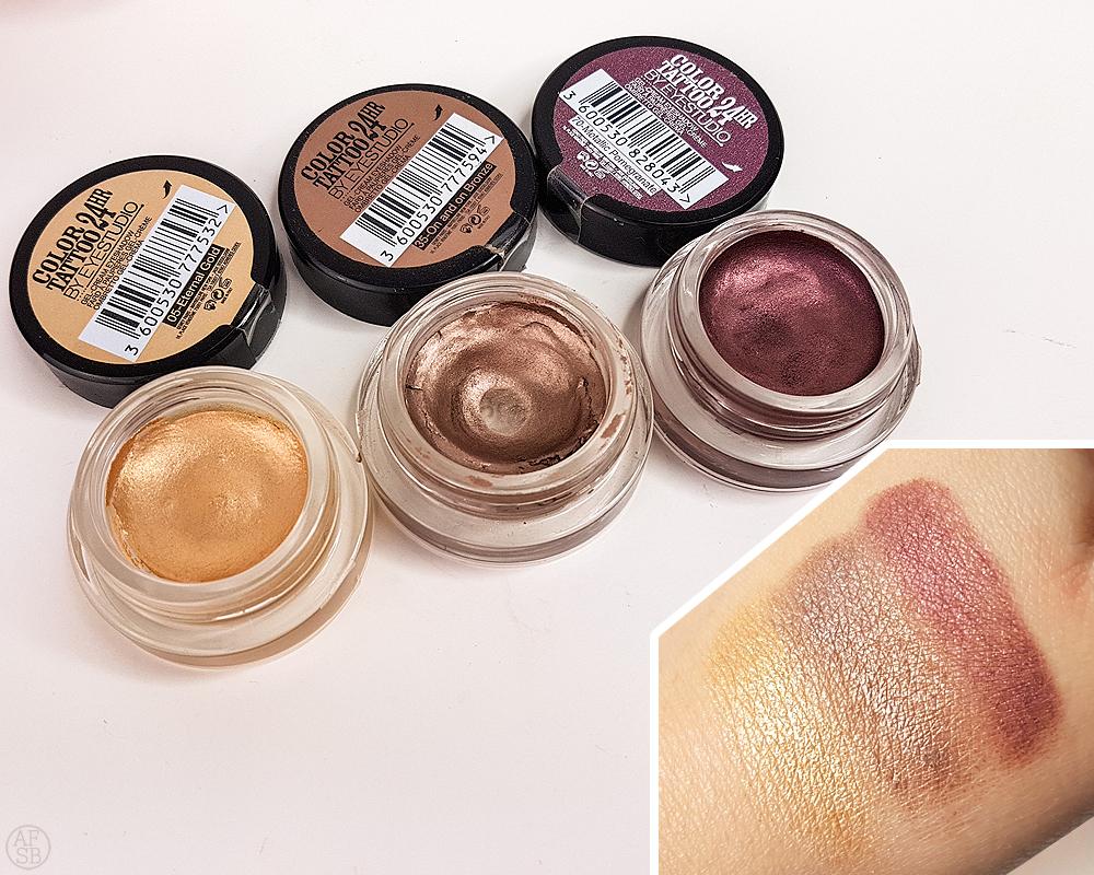 6 produits makeup à petits prix : Color Tatto de Maybelline