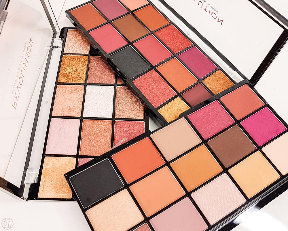 6 produits makeup à petits prix : Palettes Reloaded de Makeup Revolution