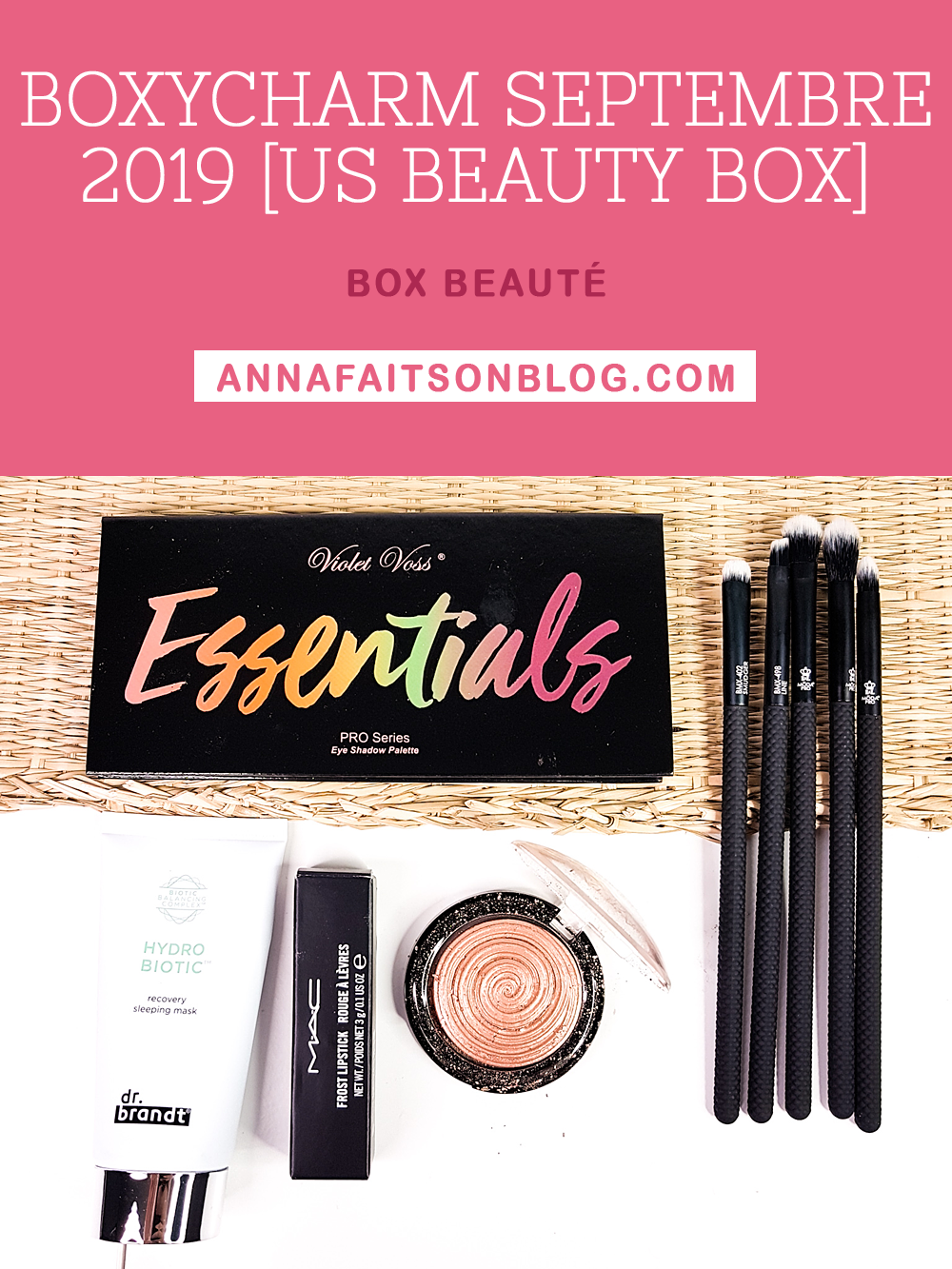 Boxycharm Septembre 2019