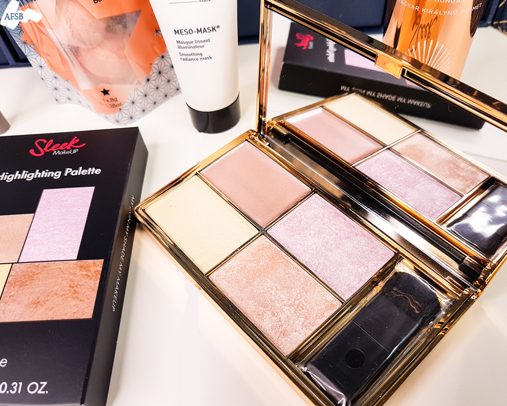 Calendrier Lookfantastic 2019 : Sleek - Solstice Highlighting Palette
