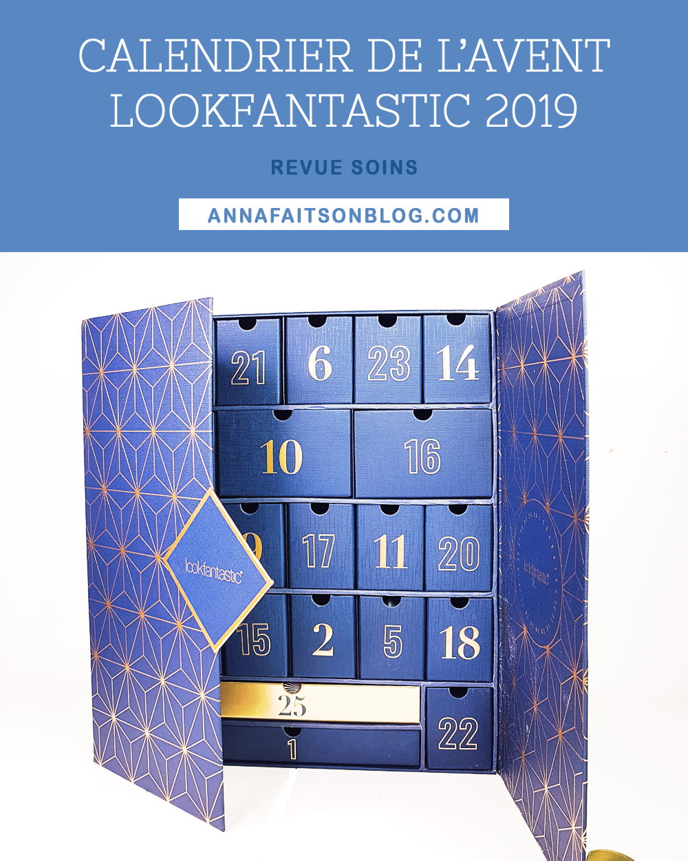 Calendrier Lookfantastic 2019