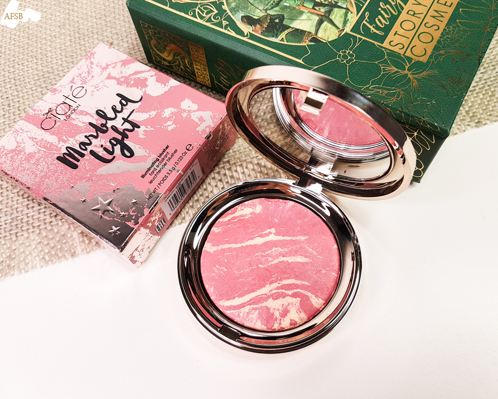 Boxycharm Décembre 2019 : Ciaté - Marbled Light illuminating Blusher in Dusk