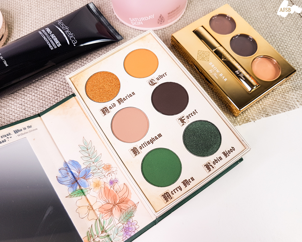Boxycharm Décembre 2019 : Storybook Cosmetics - Robin Hood Palette