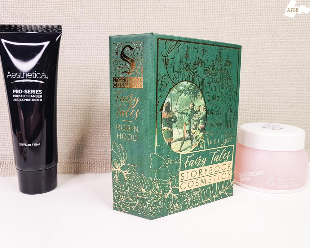 Boxycharm Décembre 2019 : Storybook Cosmetics - Robin Hood Palette