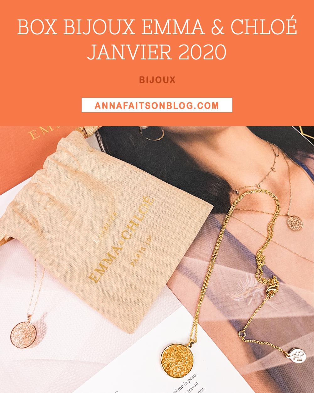 Box Emma & Chloé Janvier 2020