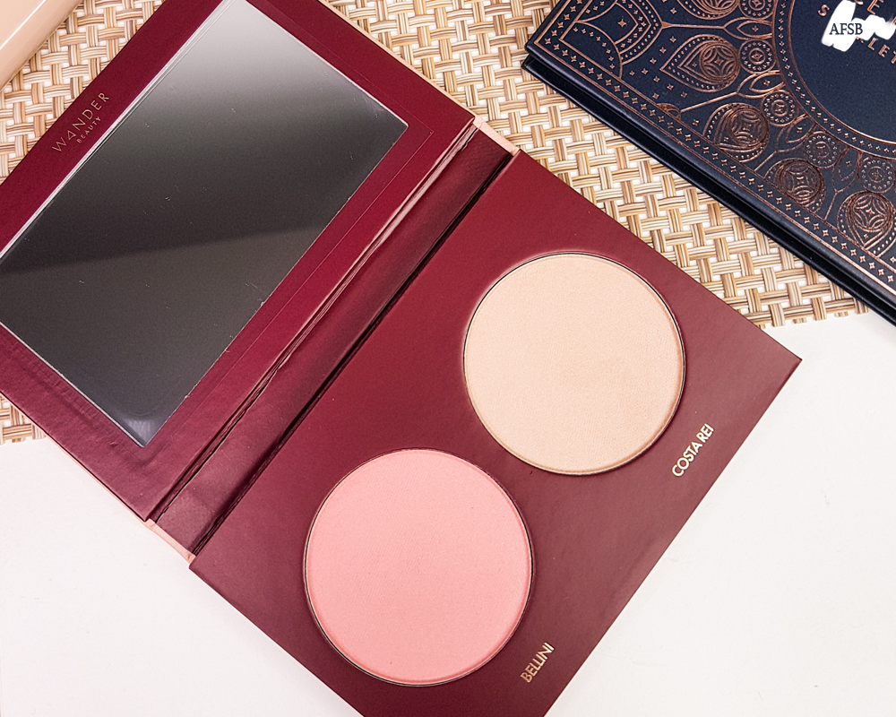 Boxycharm Janvier 2020 : Wander Beauty - Trip For Two Blush & Bronzer Duo