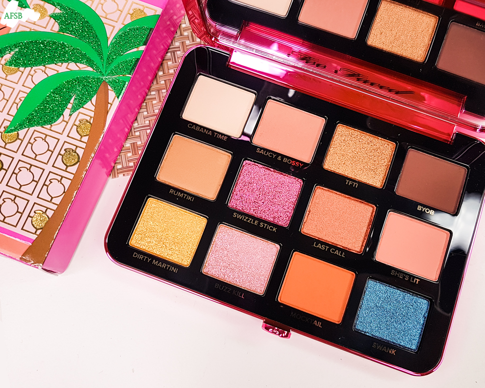 Boxycharm Premium Janvier 2020 : Too Faced - Palette Palm Springs Dreams