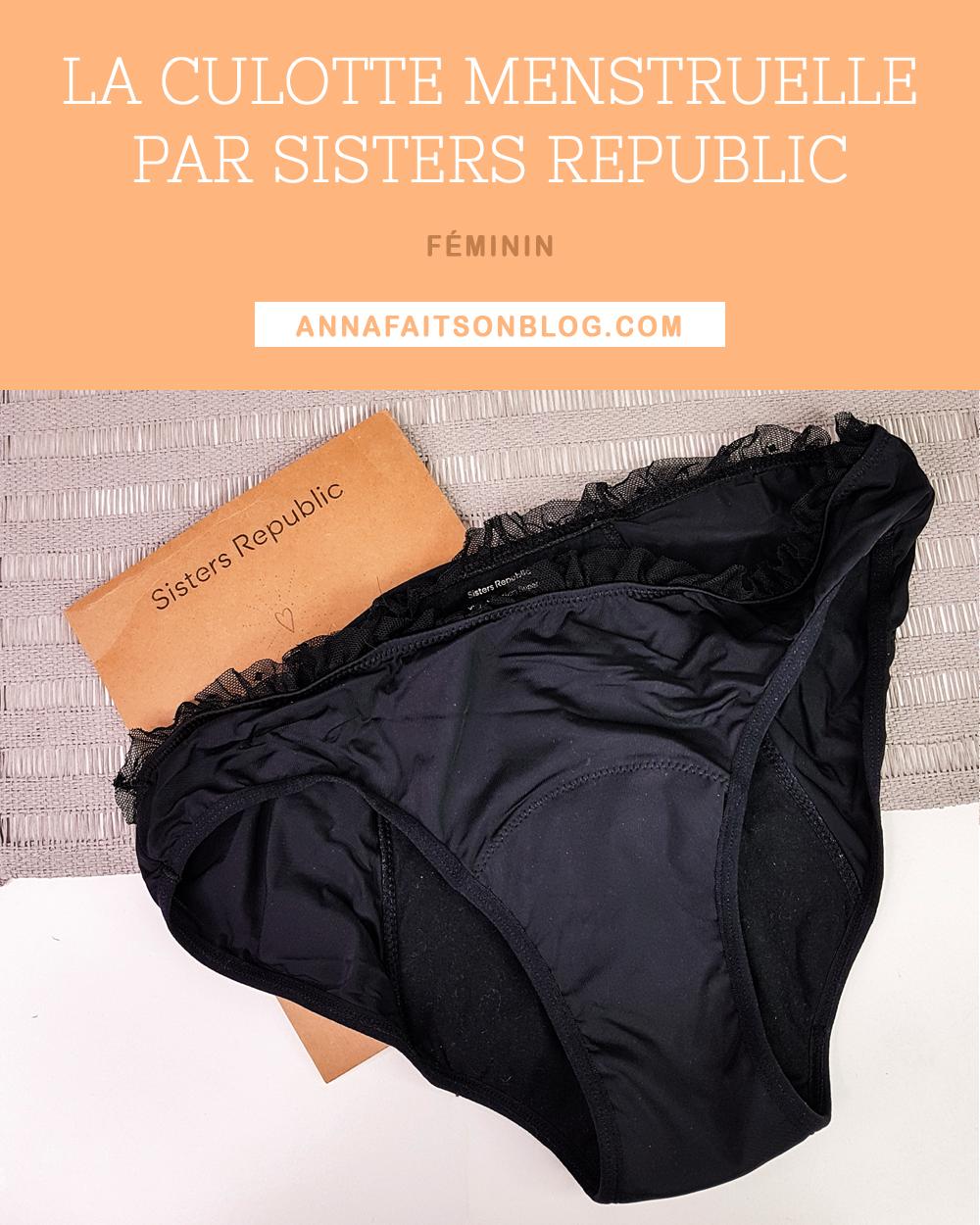 Culotte menstruelle Sisters Republic