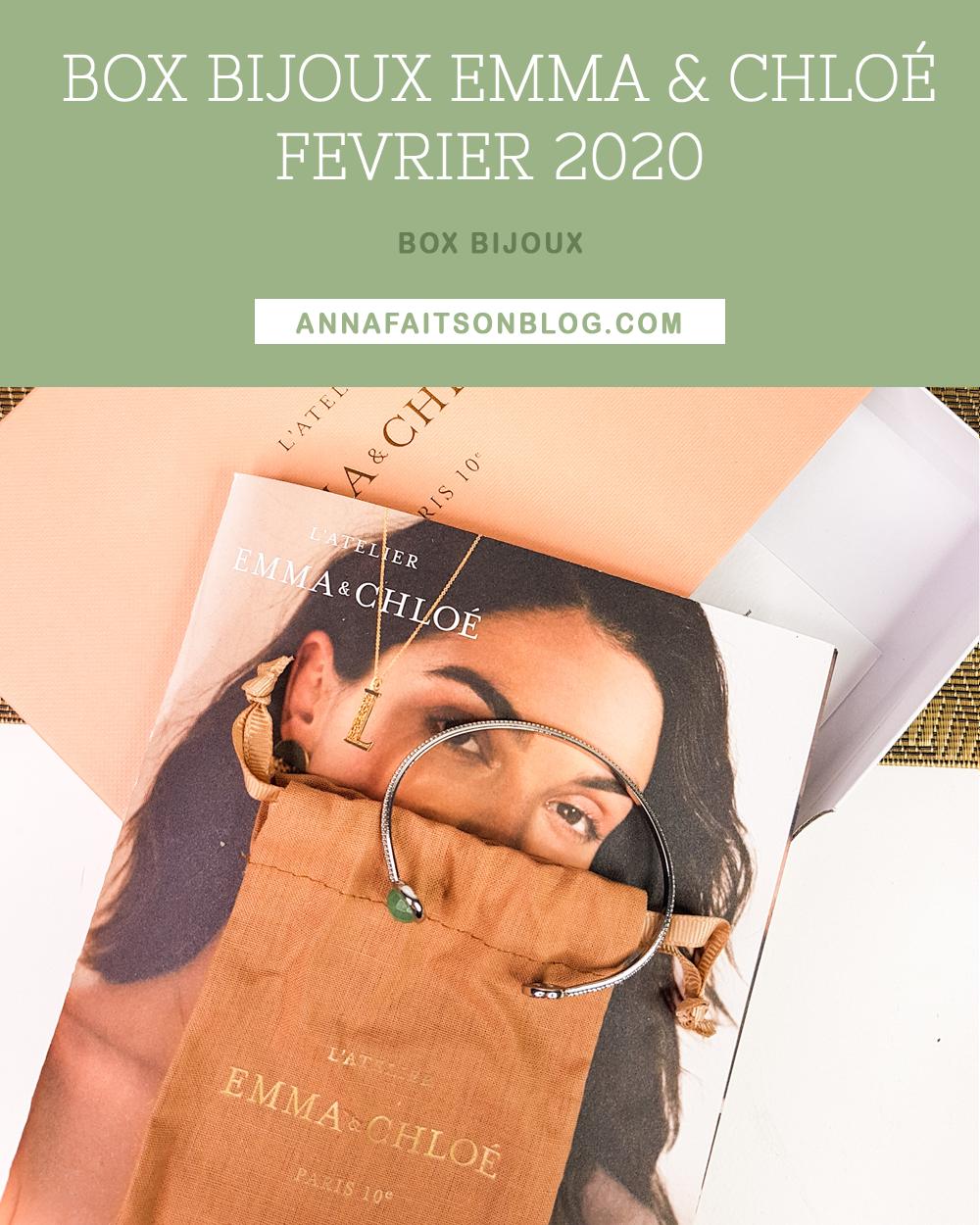 Box Emma & Chloé Février 2020