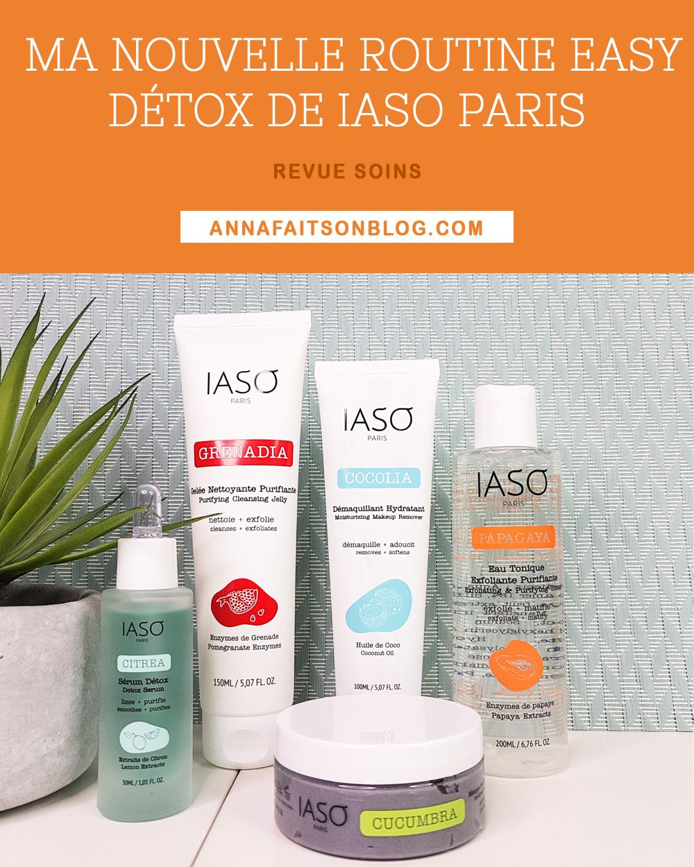 Routine Easy Détox de Iaso Paris