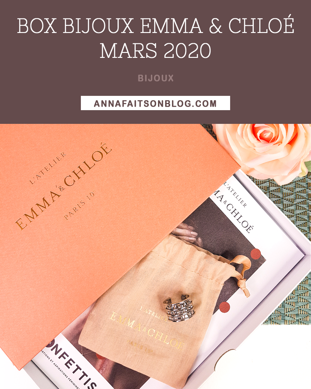 Box Emma & Chloé Mars 2020